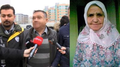 Yaşlı kadını vahşice öldürmüştü! Tutuklandı…