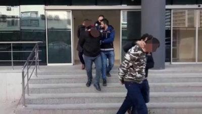 Bursa'da uyuşturucu ticaretine 3 tutuklama