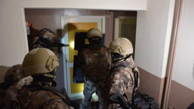 Dev operasyonda 22 tutuklama