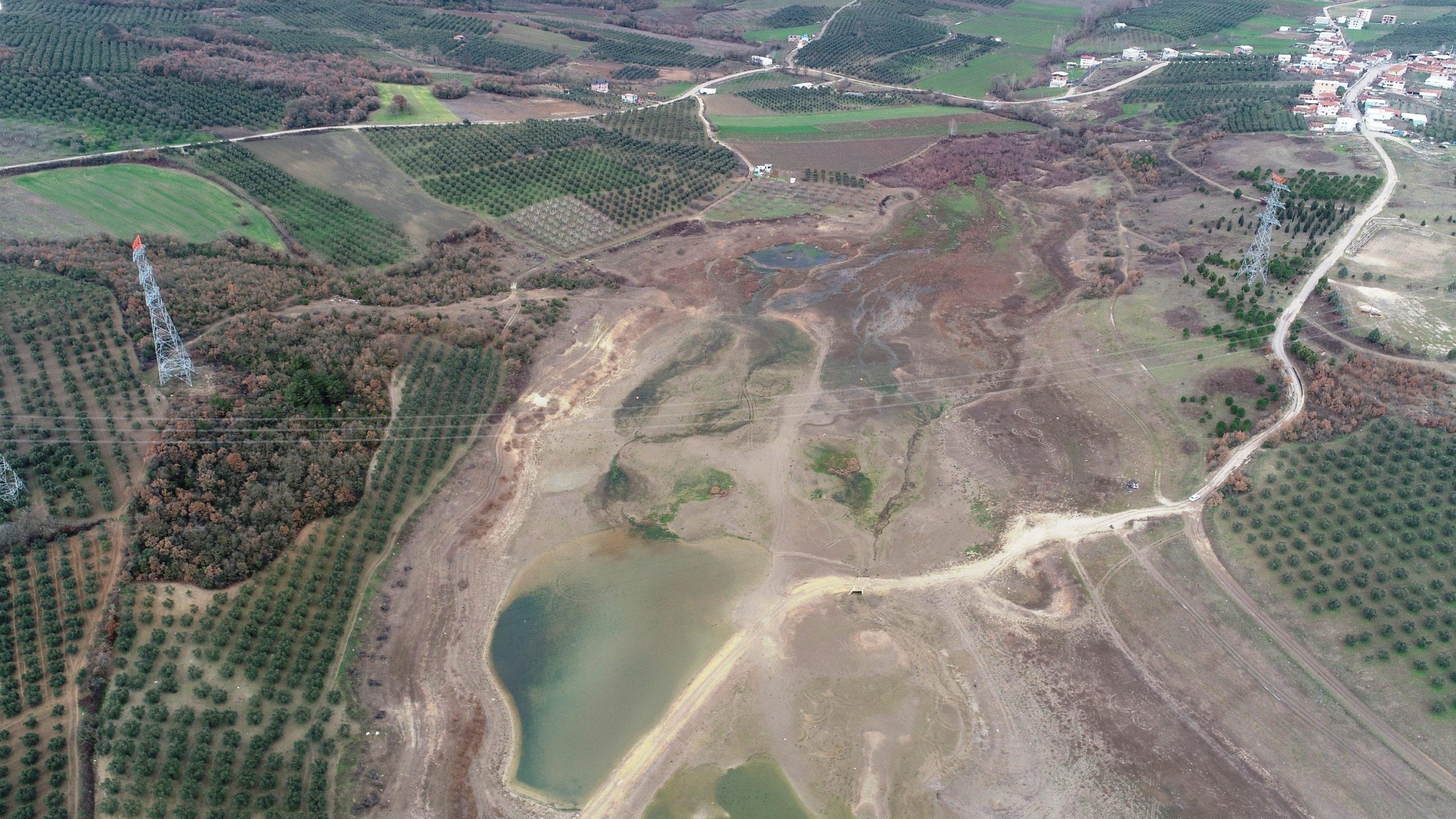3 köyün sulama ihtiyacını karşılıyordu! Yüzde 80'i kurudu…