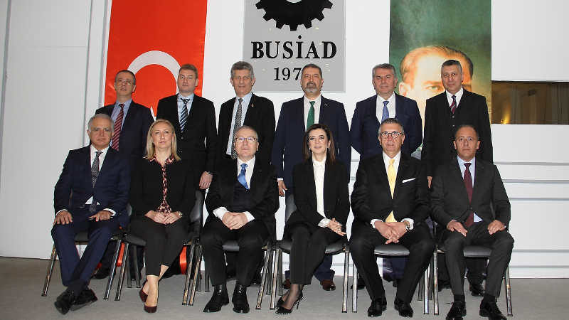 BUSİAD'da Türkay güven tazeledi