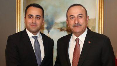 Çavuşoğlu, İtalyan mevkidaşıyla telefonda görüştü