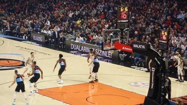 NBA'de deprem farkındalığı
