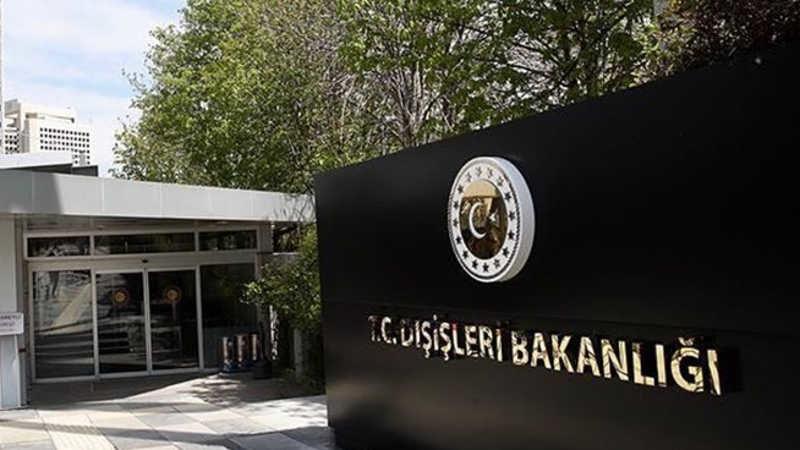 Türkiye'den Ermenistan'a tepki