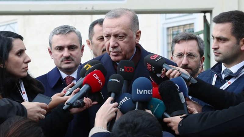 Cumhurbaşkanı Erdoğan'dan, Galataport'a ziyaret