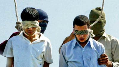İran iki kardeşi birlikte idam etti