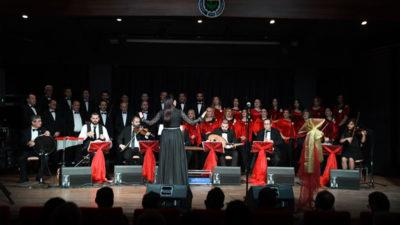 TSM Korosu yeni yılın ilk müzik ziyafetini sundu