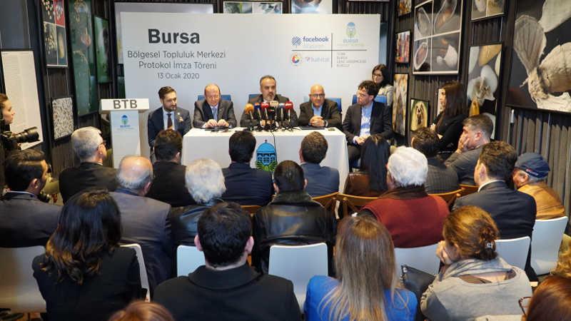 Facebook'tan ilk istasyon Bursa'ya