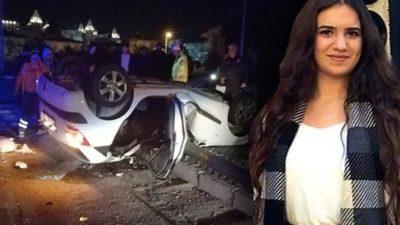 Feci kaza! Genç kızdan acı haber
