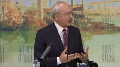 Kılıçdaroğlu'dan Elazığ depremi açıklaması