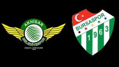 Açılış maçı Akhisar'da…