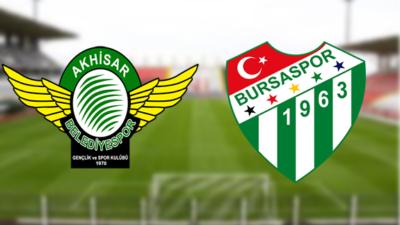 Kritik maç başladı… Bursaspor'un rakibi Akhisar…