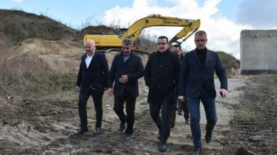 Mustafakemalpaşa'da 3. köprü 2 ay sonra bitiyor