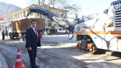 Osmangazi'den 1 yılda 85 bin ton asfalt