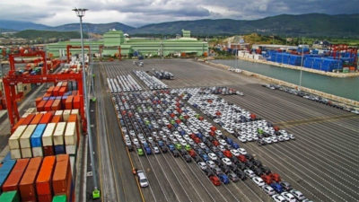 Sanayi kenti Bursa'dan ilk çeyrekte 3,6 milyar dolarlık ihracat