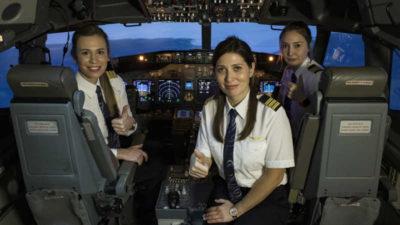 Kadın pilot sayısında rekor