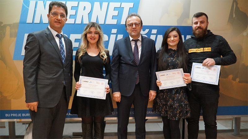 İnternet Haberciliği Eğitimi'nde sertifikalar sahiplerini buldu