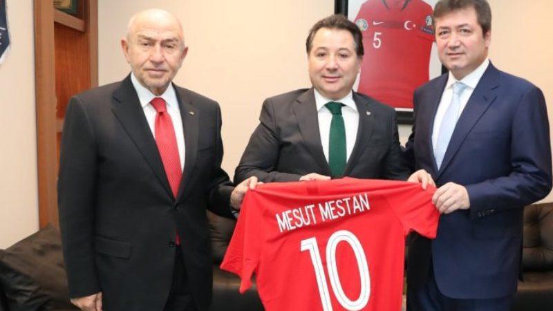 Bursaspor'dan TFF'ye çıkarma; Özdemir ve Çağlar ağırladı…