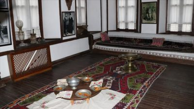 Atatürk'ün emanetlerinin bulunduğu konak tarih kokuyor
