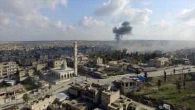 Esed rejimi, İdlib'in Maarratünnuman ilçesini Rusya'nın desteğiyle ele geçirdi