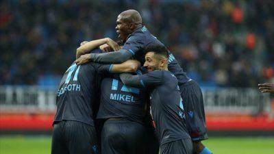 Trabzonspor'dan gol yağmuru