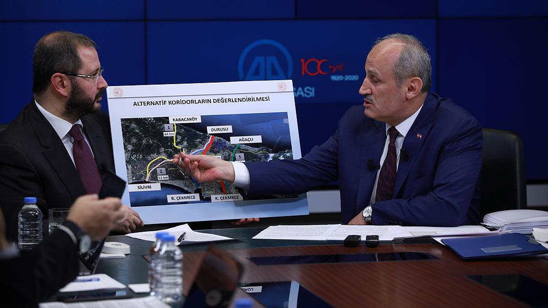 Bakan Kanal İstanbul için tarih verdi