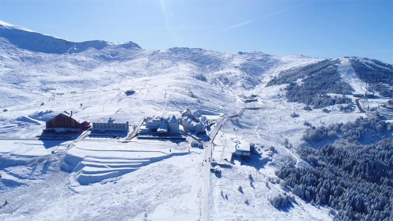 Kar kalınlığı artıyor! İşte Uludağ'da son durum…