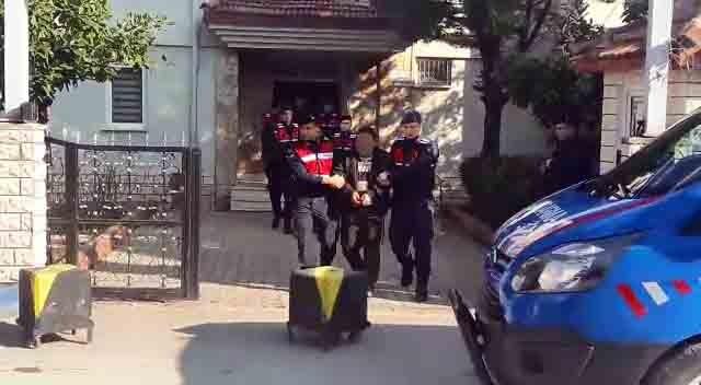 Bursa'da su tankını çalmaya çalışırken yakalandılar