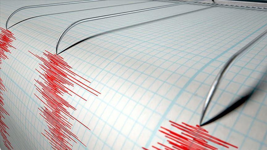 Bir deprem daha! Depremin büyüklüğü…