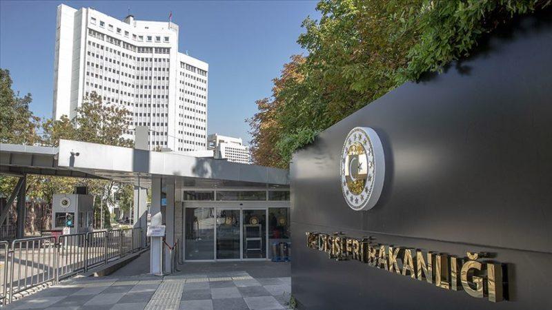 Dışişleri Bakanlığı'ndan sert açıklama: Saldırılara dur deme zamanı gelmiştir