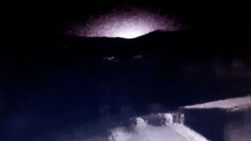 Deprem sırasındaki esrarengiz ışığın sırrı açıklandı