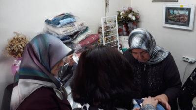Esnaf kadınlardan yürek ısıtan destek