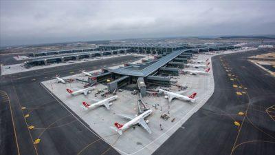 Ocakta İstanbul'dan 8 milyonu aşkın yolcu uçtu