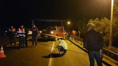 Bursa'da feci kaza: 1 ölü, 3 yaralı
