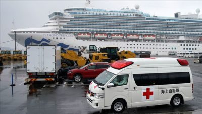 Karantinadaki gemide 70 kişide daha koronavirüs…