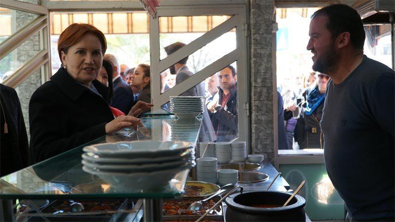 Akşener Bursa'da