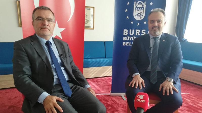 Büyükşehir Belediye Başkanı Alinur Aktaş'tan önemli açıklamalar