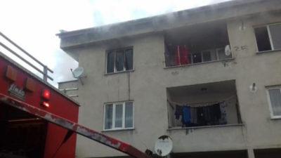 Bursa'da korkutan yangın: Hastanelik oldular…
