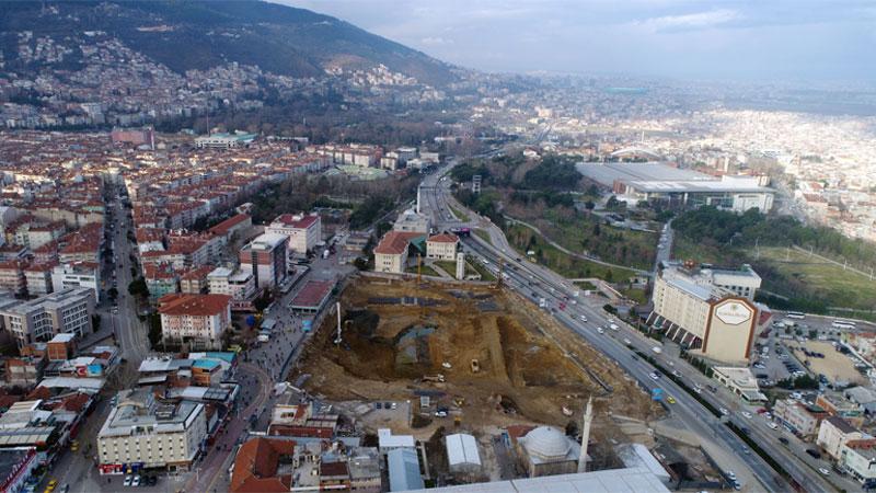 'Sadece bir meydan değil Bursa'yı değiştirecek mihenk taşı'