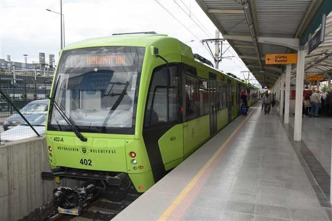 Bursa'ya yeni metro hattı geliyor!