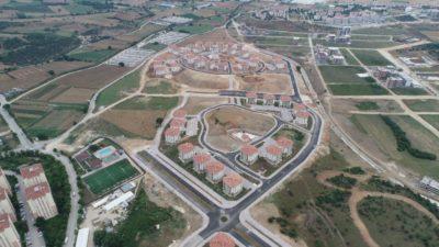 Bursa'da TOKİ'nin 3200 konutu için zemin etüdü