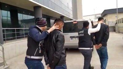 Bursa'da uyuşturucu operasyonu: 3 gözaltı