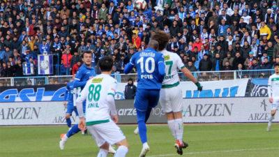Haftanın maçı bitti… Bursaspor fırsat tepti…