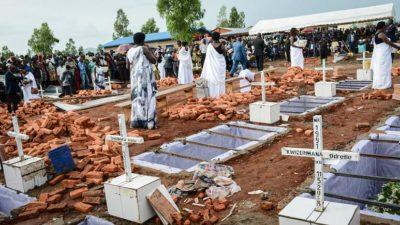 Toplu mezarlarda binlerce ceset