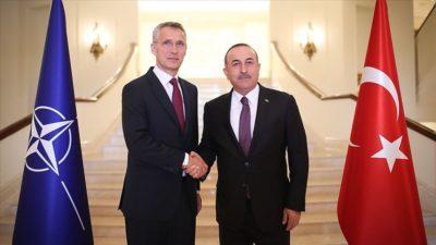 Çavuşoğlu NATO Genel Sekreteri ile görüştü