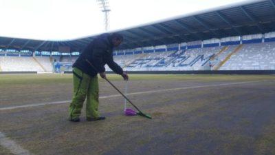 Kazım Karabekir Stadı'nda Bursaspor hazırlığı…