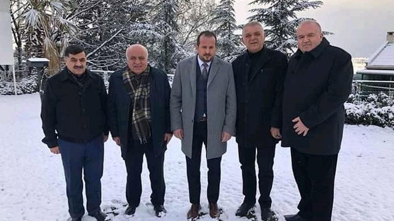 Özen'den Bursa DİKOSAB'a tam destek