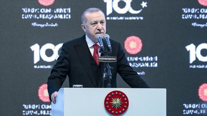 Erdoğan: Sinsi faaliyetlerin hiçbiri amacına ulaşamayacak