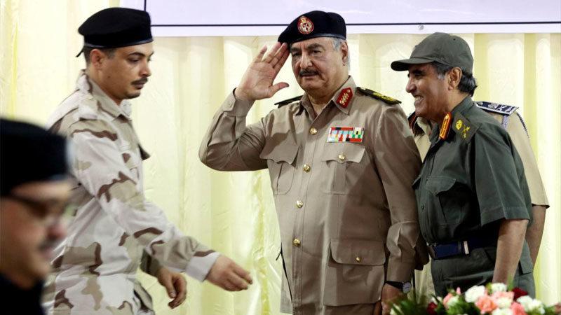 Hafter BM uçaklarını Libya'ya indirmedi