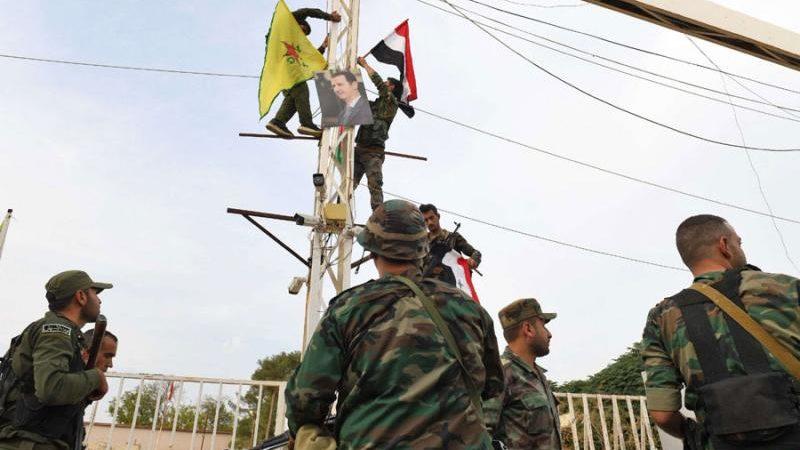 Şam ve YPG, Halep'te yeni bir cephe açtı